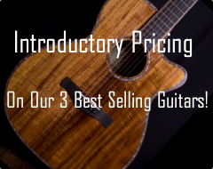 Picture of Ayers 09 guitar for introductory sale